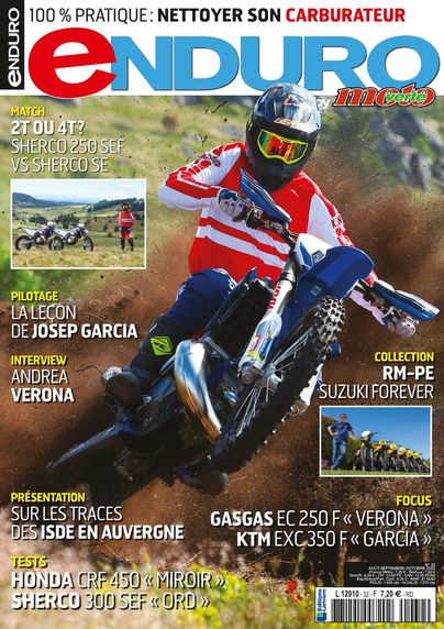 Abonnement magazine Enduro by Moto Verte