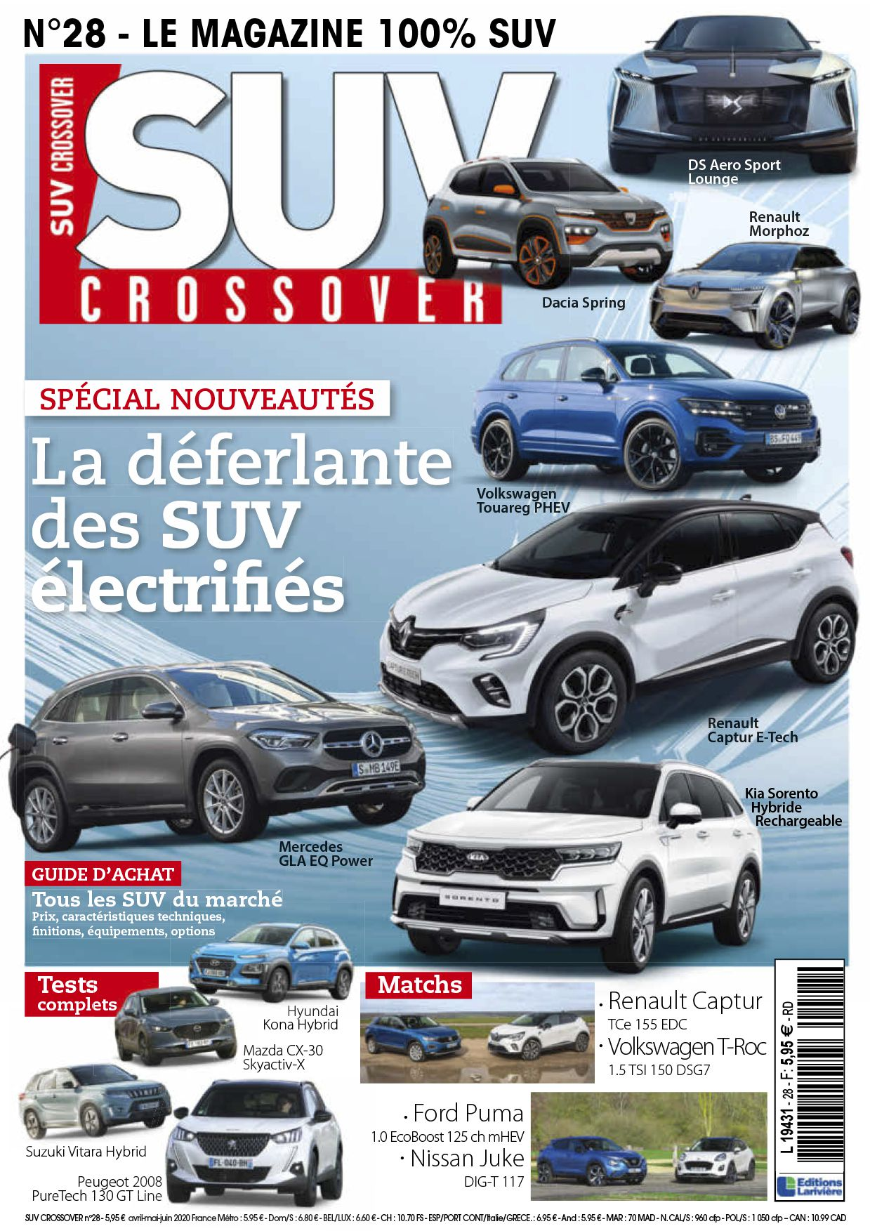 Abonnement magazine Suv crossover