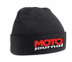 BONNET MOTO JOURNAL NOIR