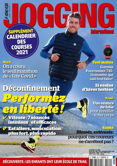 Découvrez le magazine JOGGING INTERNATIONAL