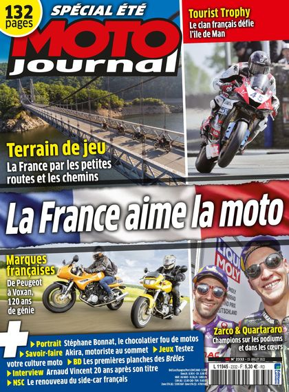Abonnement magazine Moto Journal