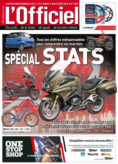 Abonnement magazine L'OFFICIEL DU CYCLE WEB